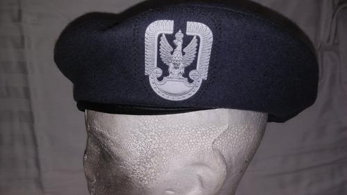 boina del ejército polaco original talla 57