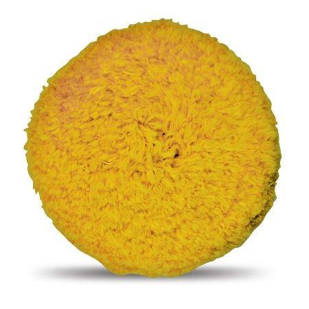 boina dupla face macia amarela drywash