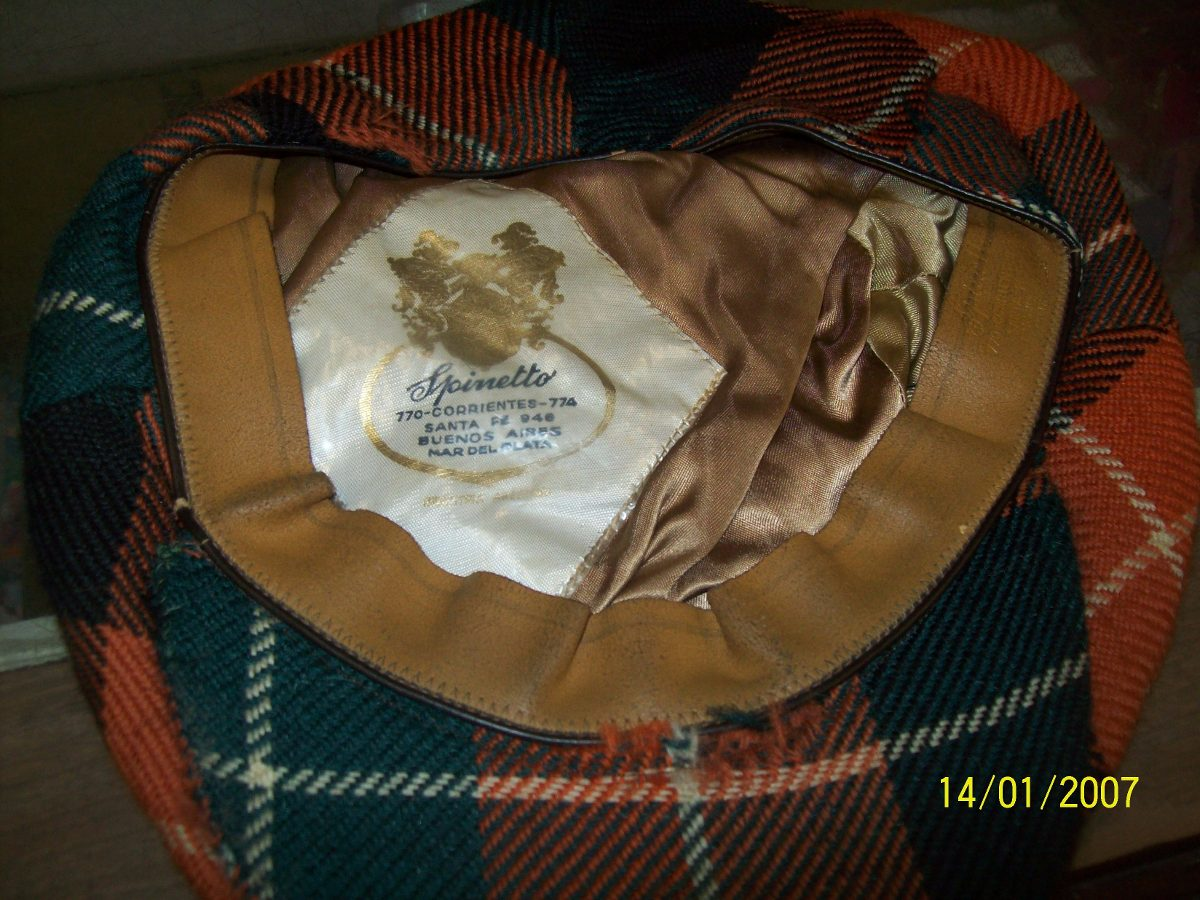 boina escocesa.18cm de diametro .spinetto. Cargando zoom. 28b43637f34