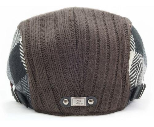boina española de lana tejida gorra sombrero ba 76-003