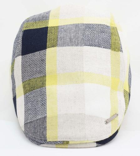 boina española de lino ajustable gorra sombrero ba 72-013