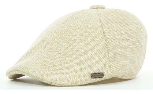 boina española de lino cerrada gorra sombrero ba 77-006