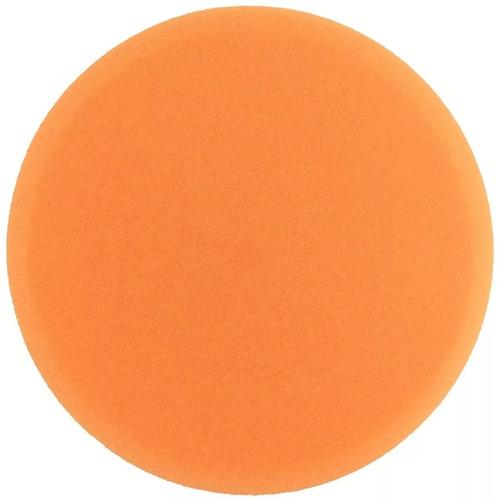 boina espuma agressiva laranja 7.5 polegadas buff and shine