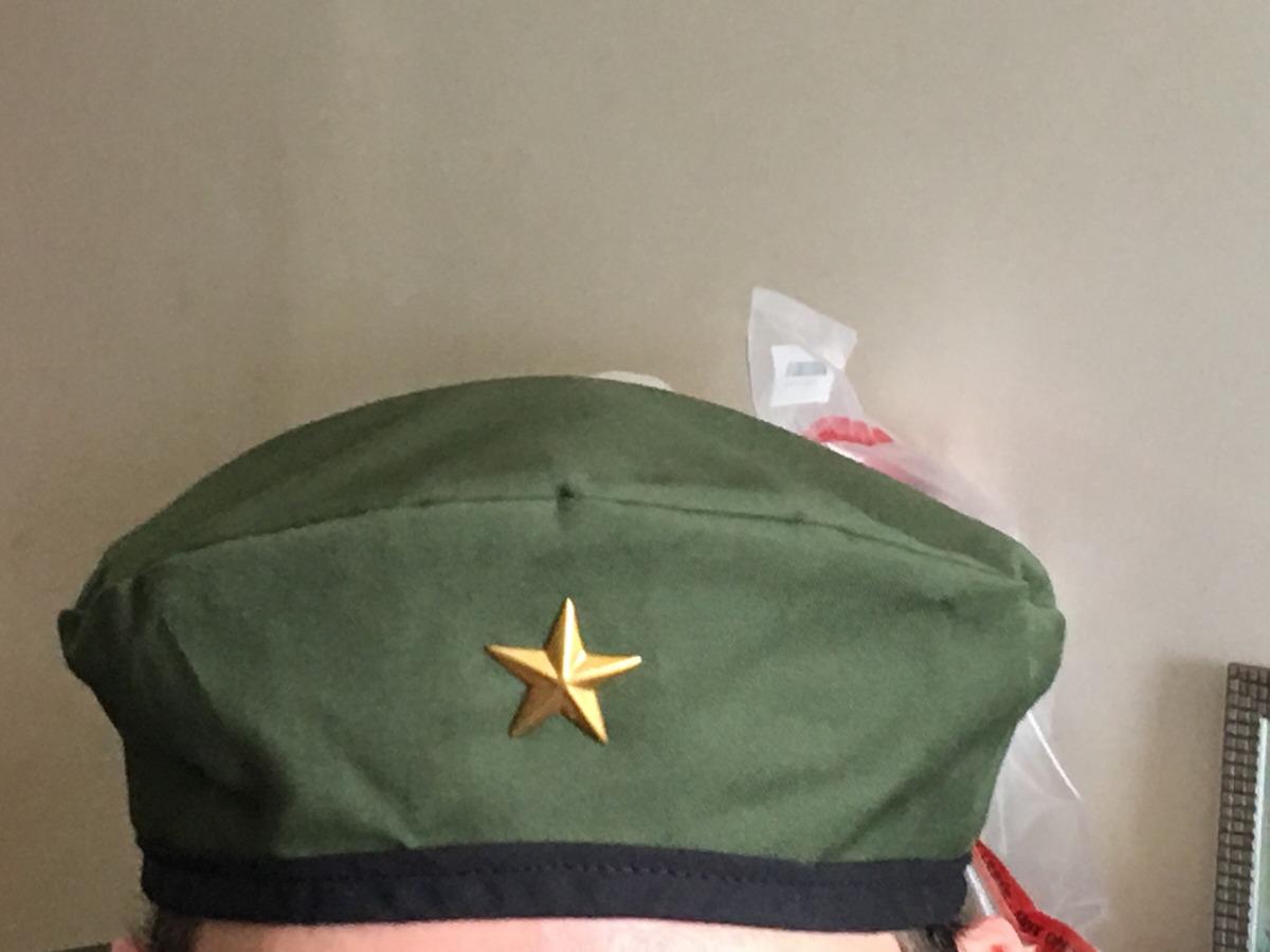 Boina Estilo Militar 149dd73b372