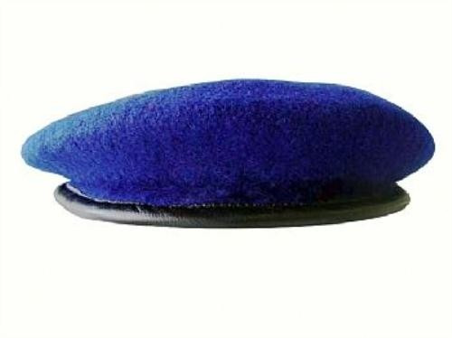 2a1810ce219e5 Boina Francesa Azul Royal Lyon Policia Policial - R  90