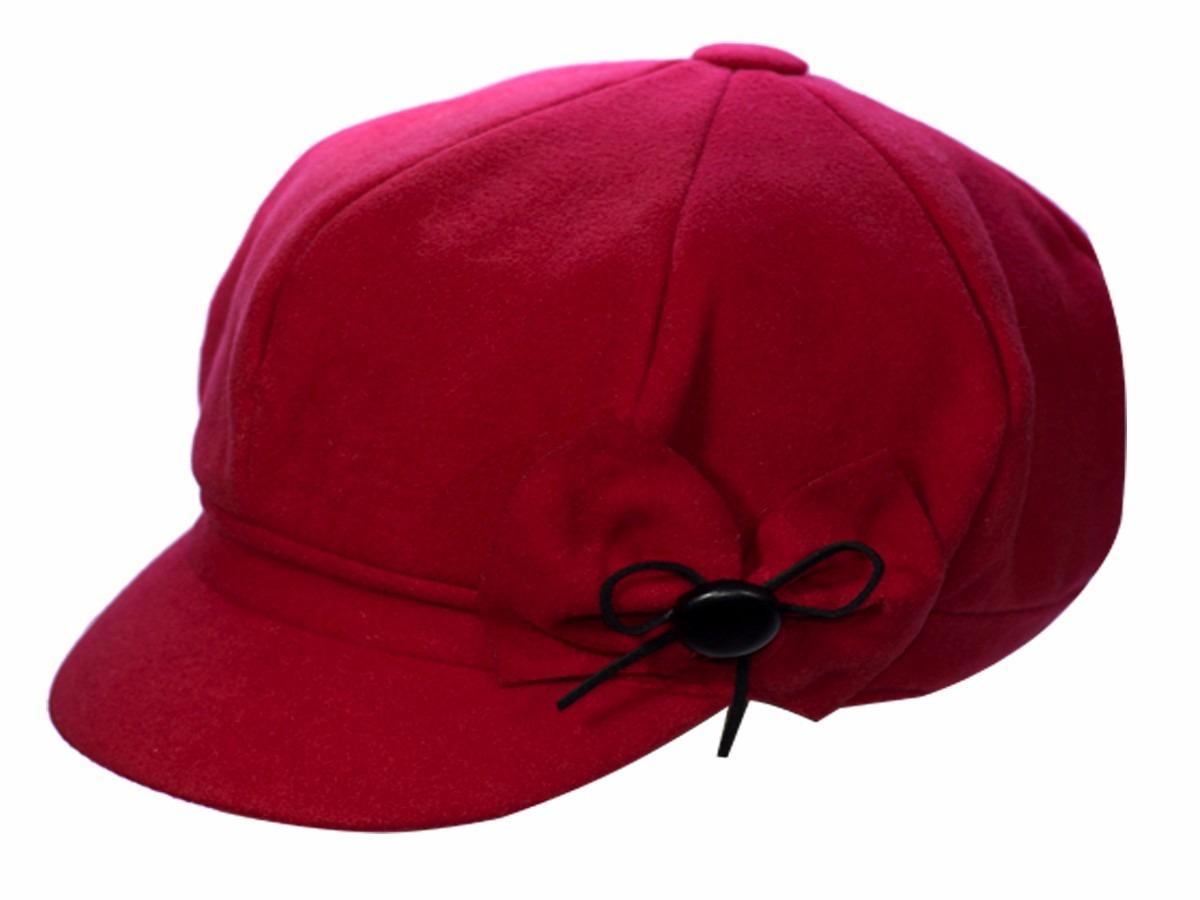 7c3462b472 boina francesa gorro chapéu cap feminina vermelha veludo. Carregando zoom.