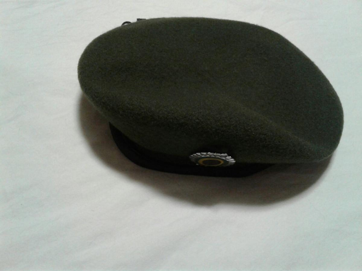 boina francesa lyon verde oliva com distintivo tam 54. Carregando zoom. 7e0bb53cbad