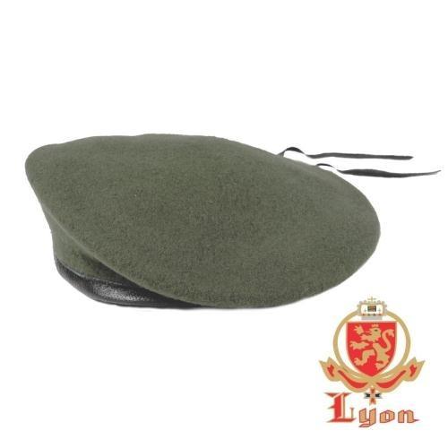 Boina Francesa Militar Lyon Verde Exército Policia Policial - R  90 ... 6a4da865e87