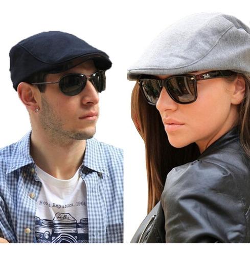boina inglesa 2 unidades unisex sol elegante gorro sombrero