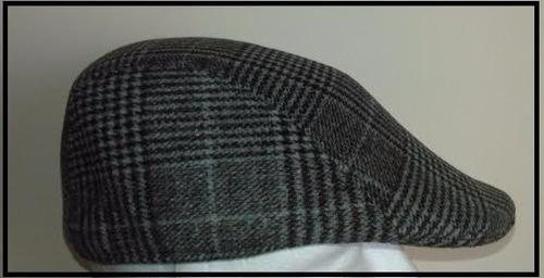 boina inglesa cuadros unisex gorro sombrero