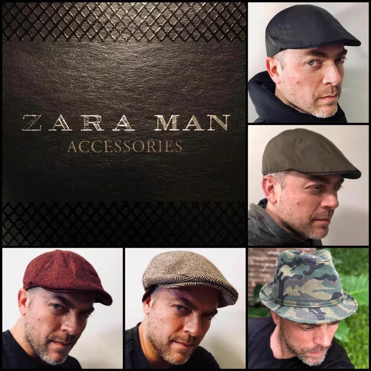 Boina Inglesa Gorra Zara Man Gatsby Sombrero Importadas Lana