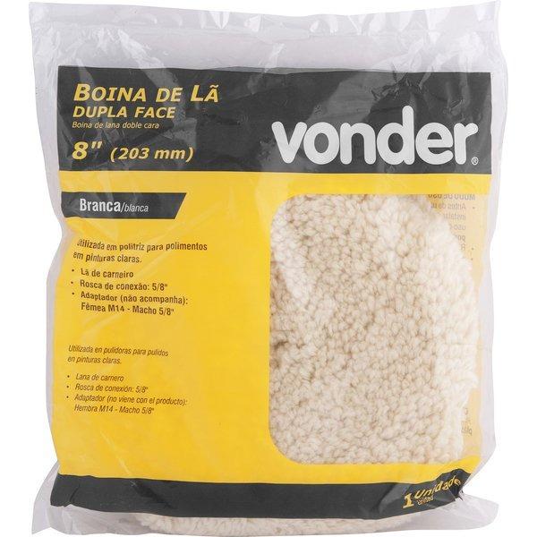 Boina Lã De Carneiro 8 Pol Polimento Vonder Profissional 2 - R  92 ... bd41ffe9148