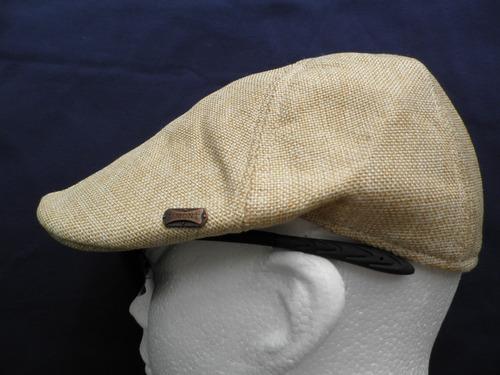 boina lino gajos ajustada  adulto gorra estilo casual sport