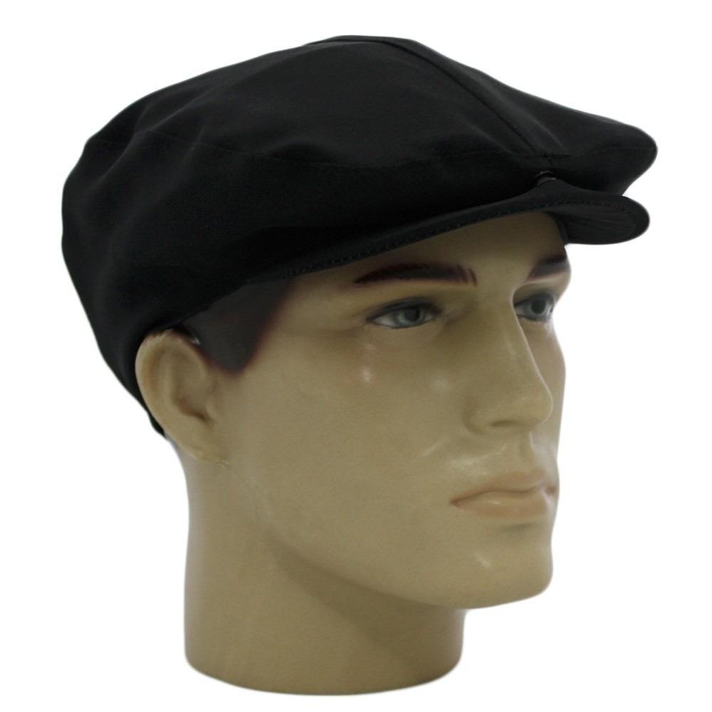 boina masculina italiana preta tecido modelável. Carregando zoom. 29fc670565d
