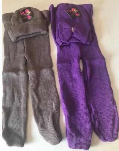 25320ab897446 Boina + Meia Calça Lã Infantil Lã Strass Bebê Recem Nascido - R  34 ...
