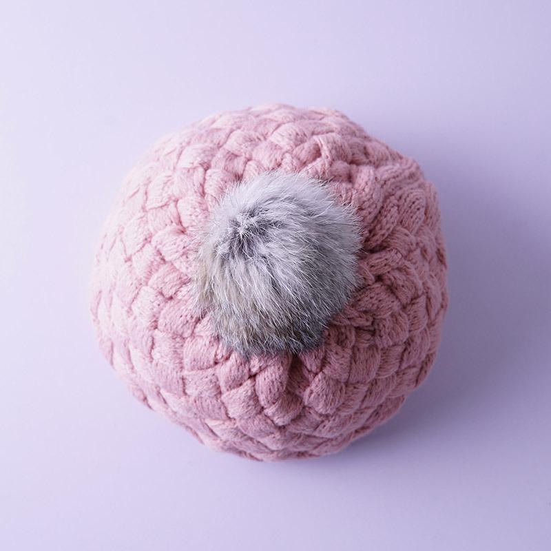 7c570c1144410 boina menina gorro infantil touca lã crochê chapéu importado. Carregando  zoom.