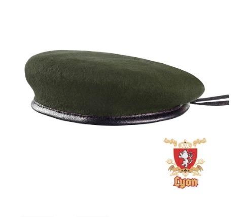 Boina Militar Verde Oliva Francesa - 100% Original - R  119 38416c8de15