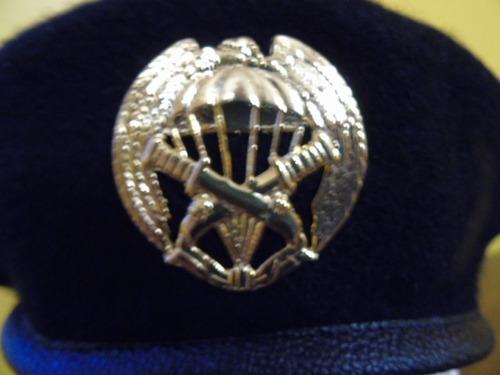 boina negra comando paracaidista ejército de chile