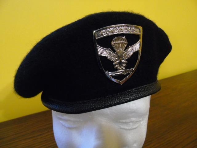 Boina Negra Comandos Ejército Envío Gratis -   19.990 en Mercado Libre e396fd33aee
