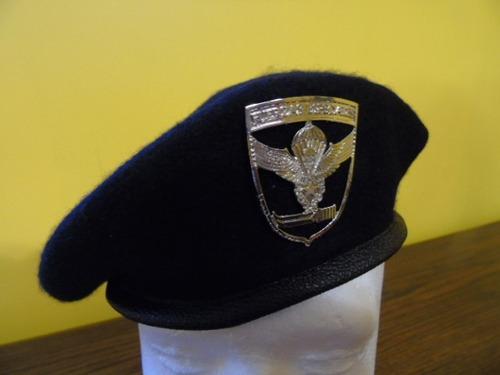 boina negra fuerzas especiales ejército de chile