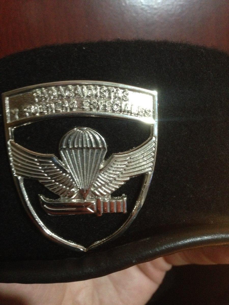 f1775c0f46111 Boina Negra Militar Ejército -   20.000 en Mercado Libre