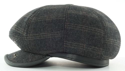boina redonda de algodón 8 gajos con botón gorra ba 76-002