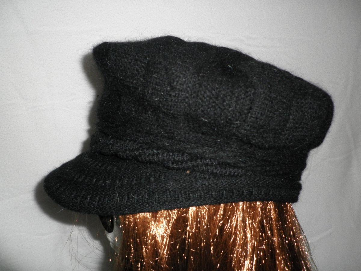 boina redonda gorra de angora sombrero chic de temporada. Cargando zoom. 05262bb1d6f
