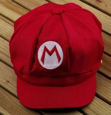 Boina Super Mario World Fantasia Yoshi Bordado Cosplay 12x - R  29 ... 887abf25bab