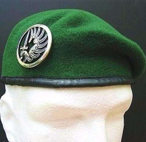 Boina Verde Legiao Estrangeira Francesa Original - R  175 701e0ea43a5