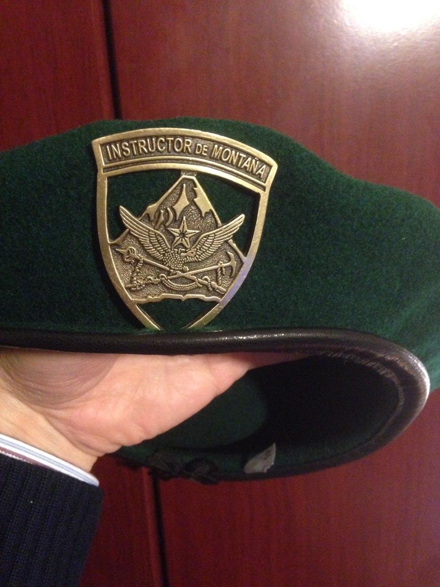 f7f6d533ace08 Boina Verde Militar Piocha -   20.000 en Mercado Libre