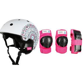 52944c87ab70f Boina Kit Capacete E Kit Proteção Infantil Barato Oxelo Novo