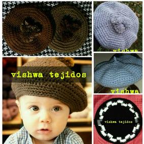 c3be7597d2ff8 Hacer Una Boina Gaucho Tejida Crochet - Ropa y Accesorios en Mercado ...