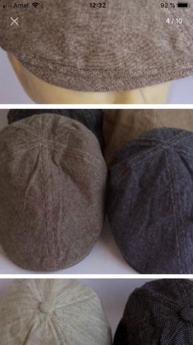 boinas de verano en algodón