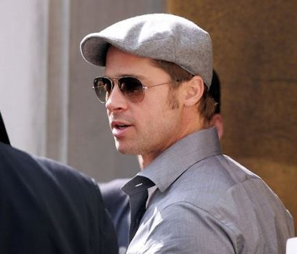 Boinas Estilo Ingles Brad Pitt b20d2f317ec