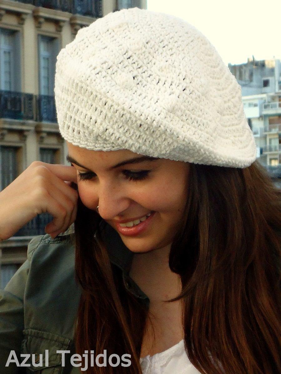 Boinas Tejidas A Mano Crochet ec56f090320