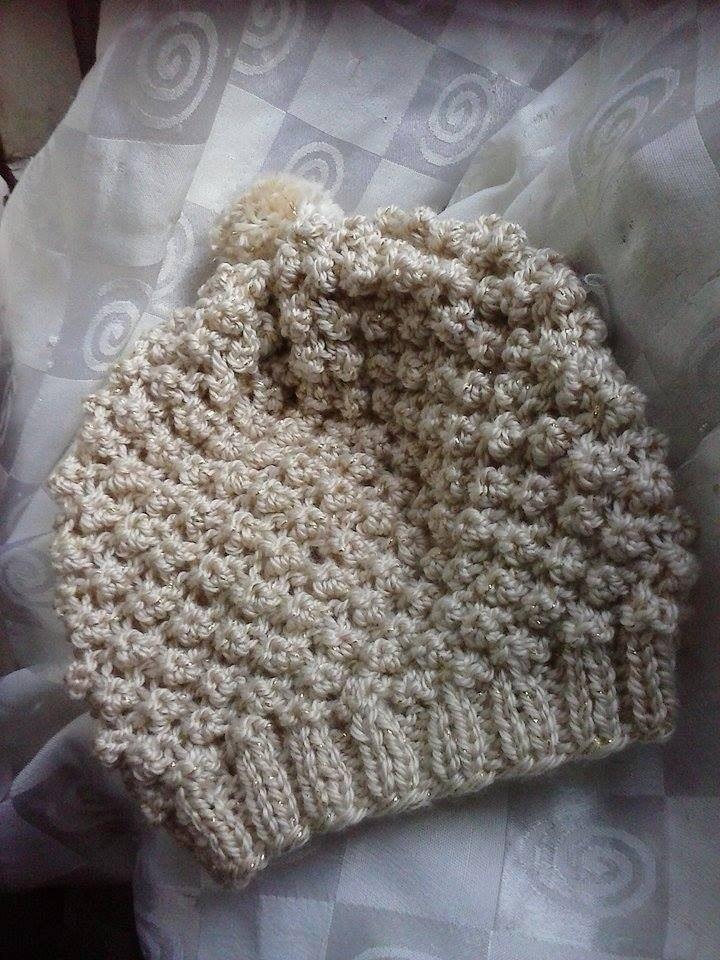 Boinas Y Gorros Tejidos Al Crochet - $ 320,00 en Mercado Libre