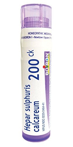 boiron hepar sulphuris calcareum 200c, 80