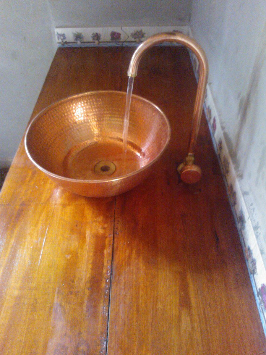 Bojo e torneira de cobre o valor de cada pe a r 225 00 r 225 00 em mercado livre - Griferia de cobre ...
