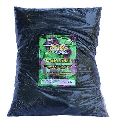 bokashi adubo orgânico fertilizante orquídeas e bonsais 1kg