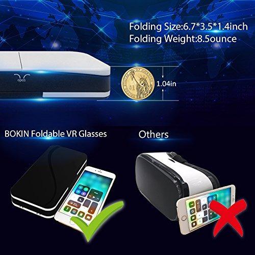 770bcd391e Bokin Bk0002 Teléfono Celular Plegable Vr Auriculares Y Gafa ...