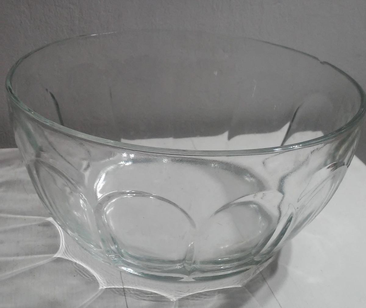 Bol bowl de vidrio para pasapalo hacer tortas tizana bs - Bol de vidrio ...