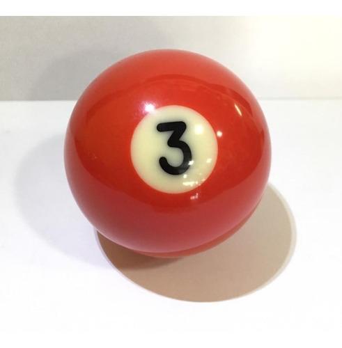 bola #3 lisa billar ¡envio gratis!