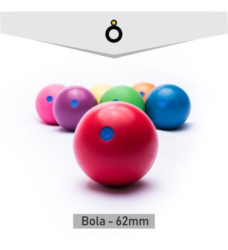 bola 62mm - em diversas cores - malabares