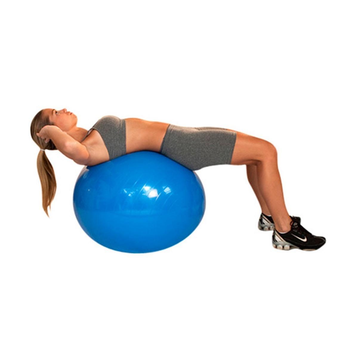 1268172bdc bola academia 65cm abdominal alongamento boa postura + bomba. Carregando  zoom.
