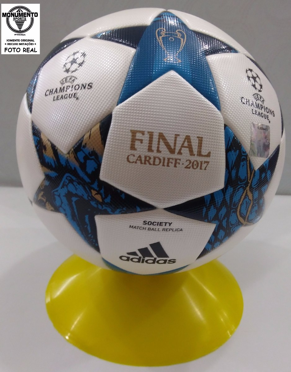 bola adidas cardiff 2017 champions league final society + nf. Carregando  zoom. 049a1bf49bdc2