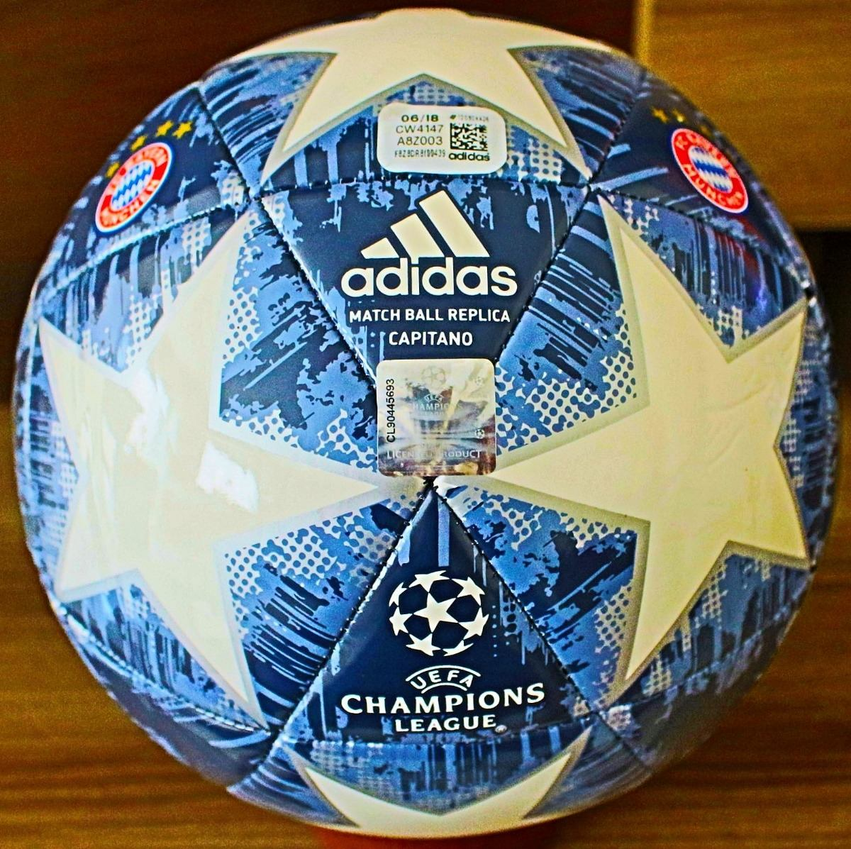 52eb5a27ea bola adidas champions league bayern tamanho oficial. Carregando zoom.