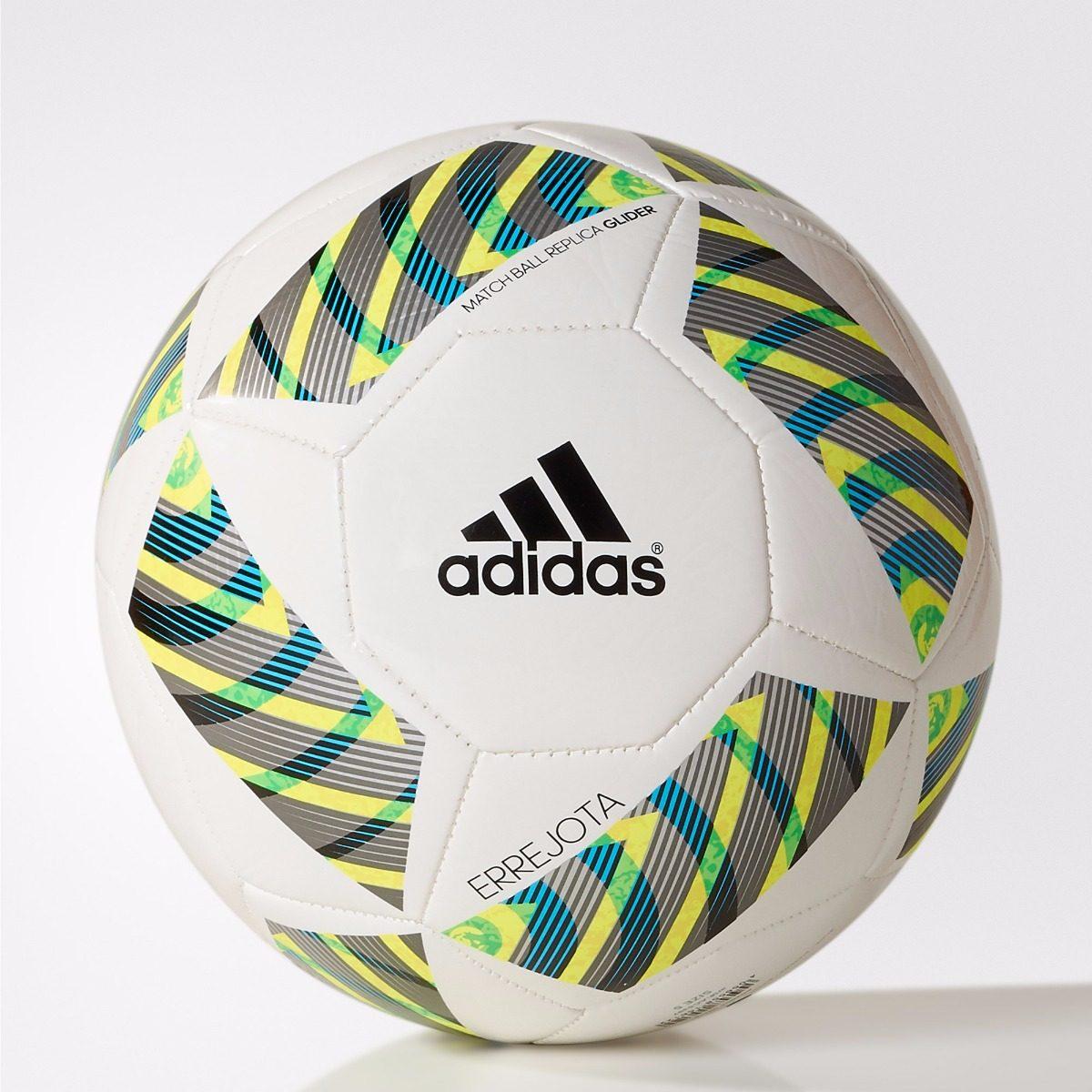 f2d093680 Bola adidas Futebol De Campo Couro Branca Oficial Errejota - R$ 120,00 em  Mercado Livre
