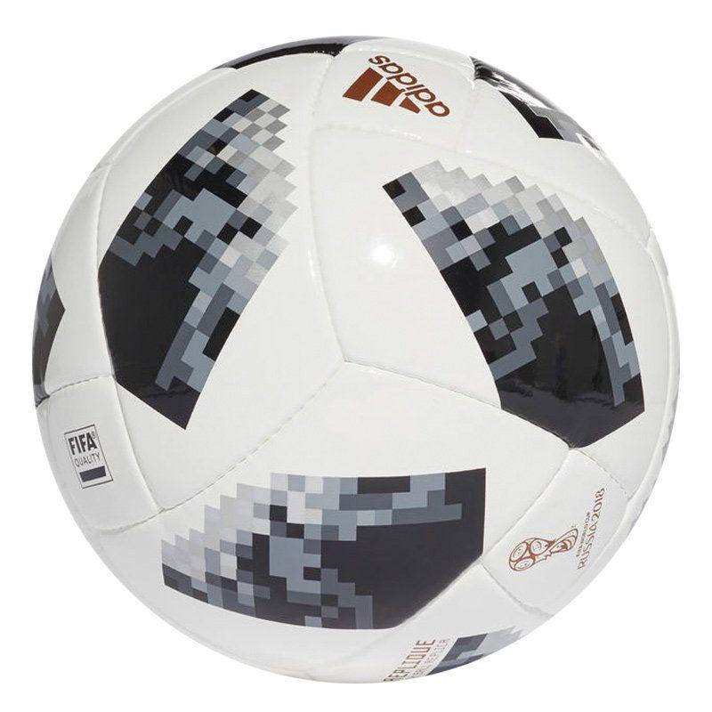 bola adidas telstar 18 replique campo fifa. Carregando zoom. 9162fbfa28f32