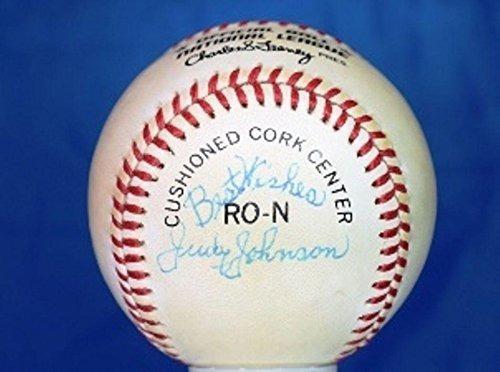 Bola Autografiada De Judy Johnson - Liga Nacional De Feeney ... afe1cb1567d03