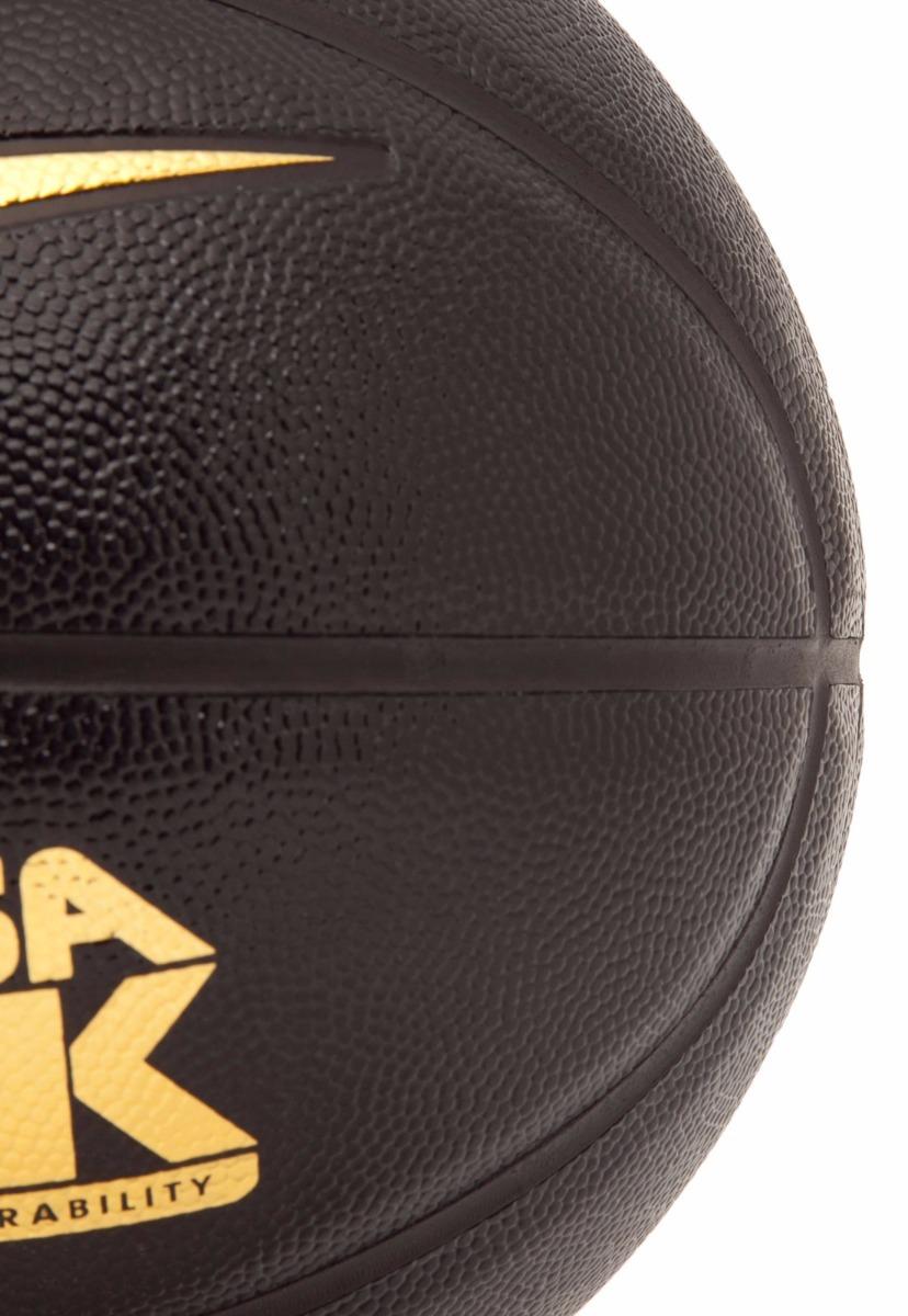 bola basquete nike versa tack 7 preta com dourado - original. Carregando  zoom. 605c71de1de77